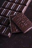 Chocolat foncé riche Images libres de droits