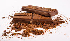 Chocolat foncé Photos libres de droits