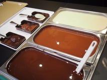 Chocolat liquide Photos stock
