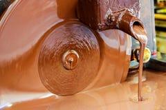 Chocolat liquide photo stock