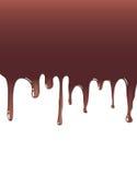Chocolat liquide Photographie stock libre de droits
