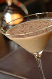 Chocolat martini Images libres de droits