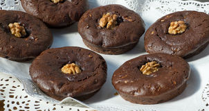 Chocolat muffins. Stock Images