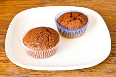 Chocolat muffins Royalty Free Stock Photography