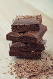 Chocolat poreux Image libre de droits