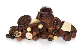Chocolat pour tous les goûts Images stock