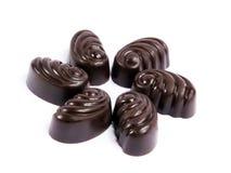 chocolat recueillant s Images stock