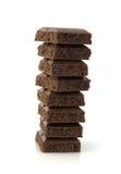 chocolat stos zdjęcia royalty free