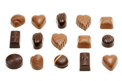 Chocolat sucré images stock