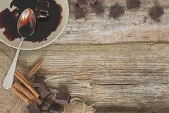 Chocolat sucré Images libres de droits