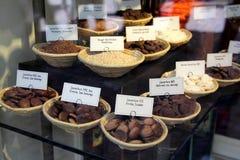 Chocolat suisse luxueux Photo stock
