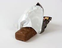 Chocolat sur un fond blanc Image stock