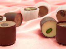 Chocolat sweets Stock Photography