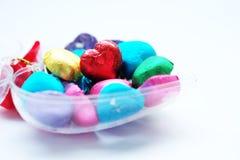 Chocolat Valentine de coeur d'amour dans la couleur douce Image stock