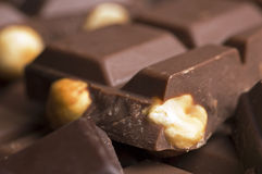 Chocolate. Close up Stock Images