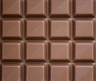 Chocolate. Closeup of chocolate filling the whole frame royalty free stock image
