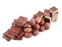 Chocolate. Imagens de Stock