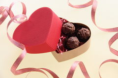 Chocolate. This is a Valentine gift image Stock Photography
