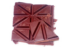 Chocolate. Dark chocolate Royalty Free Stock Photography