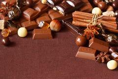 Chocolate. Royalty Free Stock Image