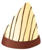 Chocolate. Illustration of a sweet chocolate candy bar available in vector format Royalty Free Stock Images