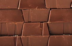 Chocolate. Lots of milk chocolate candy or sweets as we say in Europe stock photography