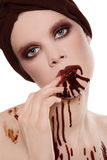 Chocolate addiction Royalty Free Stock Image