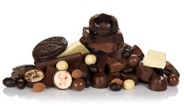 Chocolate for all tastes Stock Photography