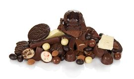Chocolate for all tastes Stock Images