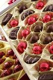 Chocolate allsorts Imagens de Stock