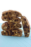 Chocolate Almond Biscotti Stock Photos