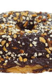 Chocolate and almond croissant Royalty Free Stock Photo