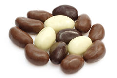 Chocolate almonds Royalty Free Stock Image