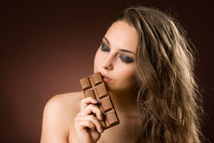 Chocolate amazement. Stock Images