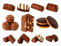 Chocolate And Chocolates Royalty Free Stock Images
