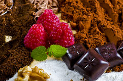 Chocolate And Kaffe Royalty Free Stock Photography