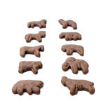 Chocolate Animal Crackers Stock Images