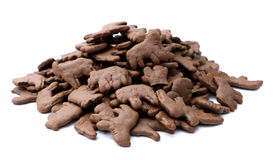 Chocolate Animal Crackers Stock Image
