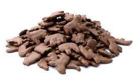 Chocolate Animal Crackers Stock Image