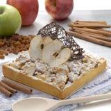 Chocolate apple cake. Royalty Free Stock Image