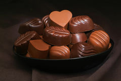 Chocolate assorted Royalty Free Stock Photography