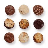 Chocolate assortment Royalty Free Stock Photo