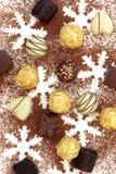 Chocolate Assortment Royalty Free Stock Photos