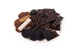 Chocolate assortment Royalty Free Stock Photography