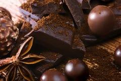 Chocolate assorttment Stock Image