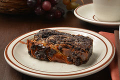 Chocolate Babka Stock Image