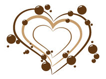 Chocolate background. This is vector picture of chocolate background vector illustration