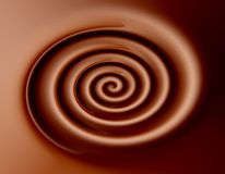 Chocolate background. Dark chocolate twirl abstract background stock photos