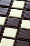 Chocolate background. Tasty chocolate background. Close-up Stock Photography