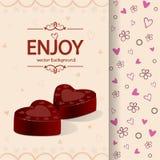 Chocolate background Royalty Free Stock Photos